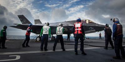 Looking ahead – US Marine Corps aircraft to embark on board HMS Queen Elizabeth