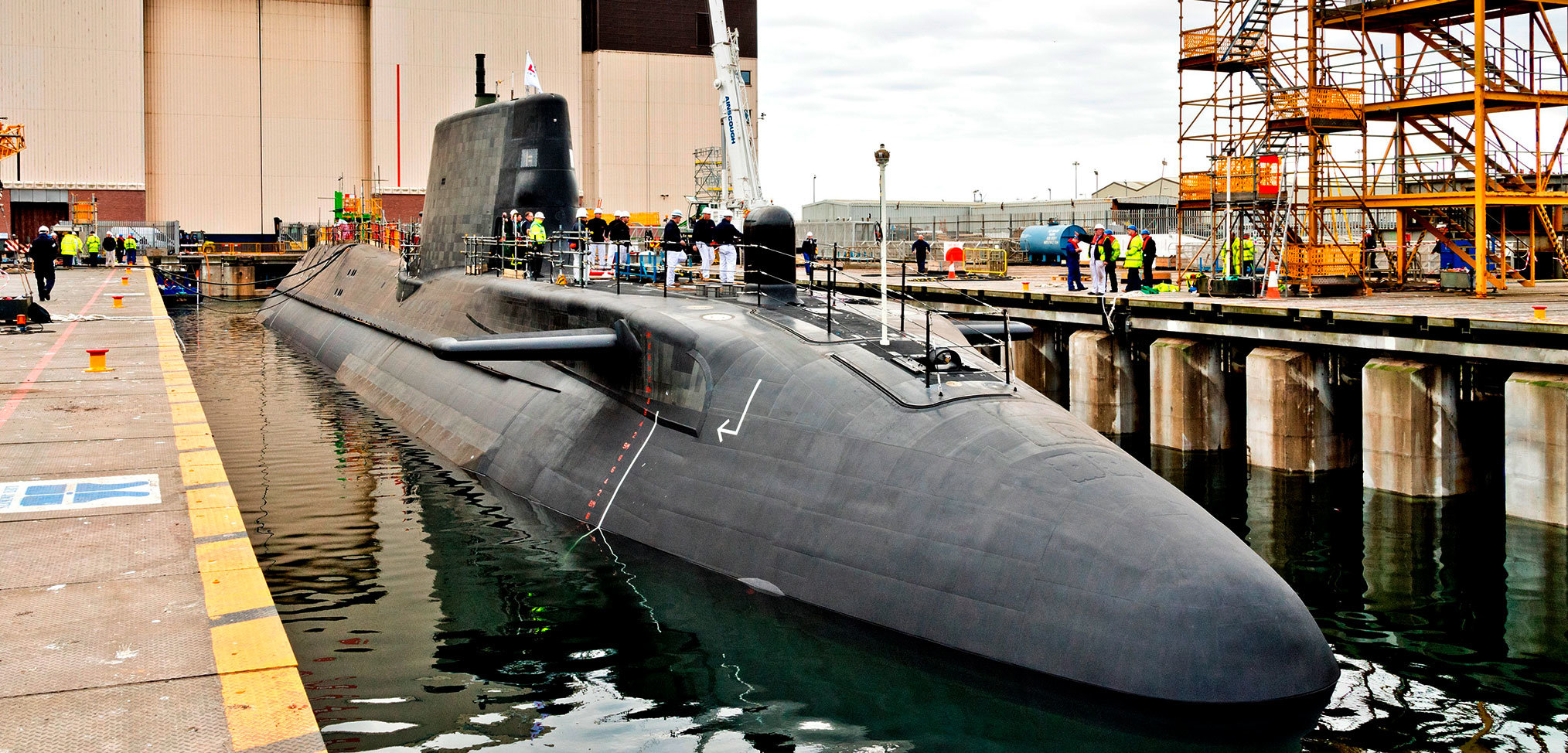 HMS Audacious yet to begin sea trials, risking further decline in Royal Navy submarine numbers