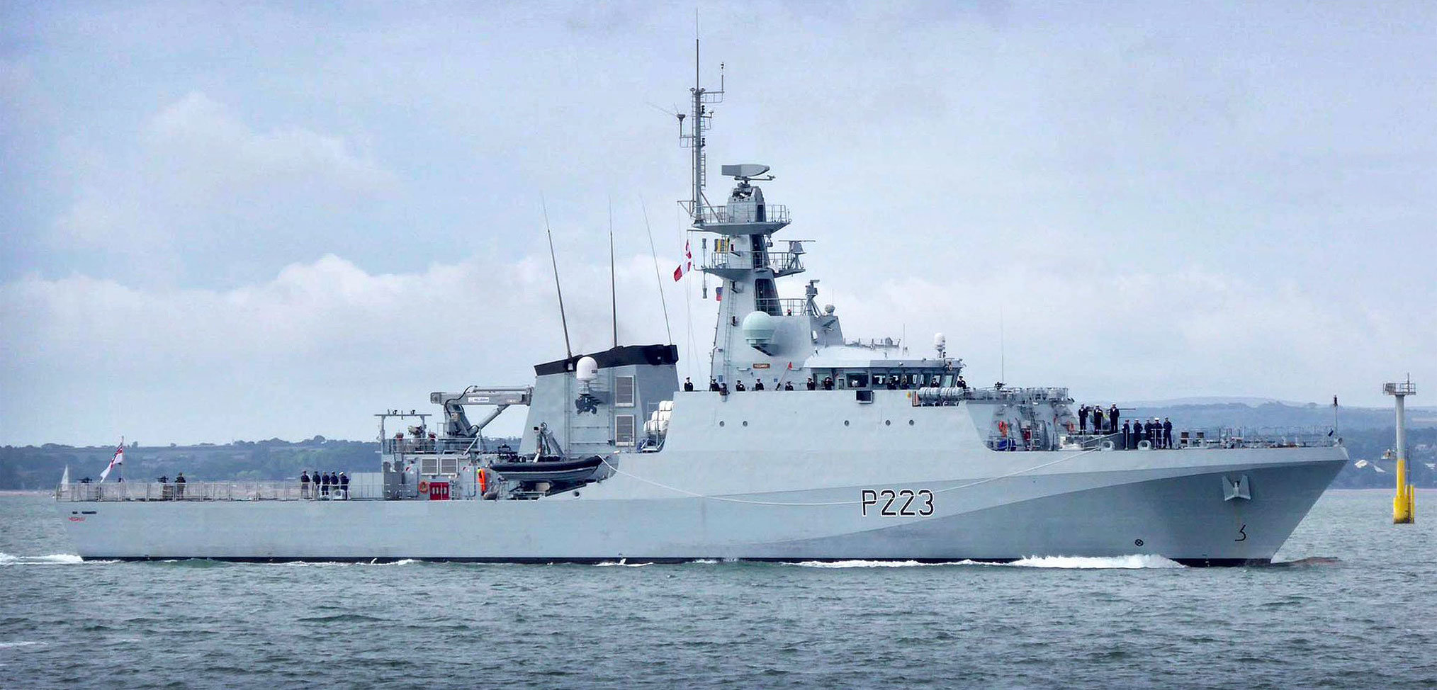 Up close with the Royal Navy's new OPVs – HMS Medway