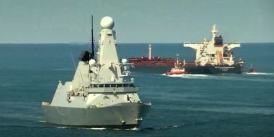 HMS Duncan sent to strengthen the slender Royal Navy presence in the Gulf