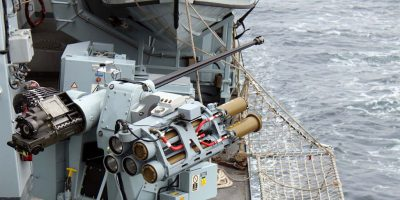 Royal Navy test-fires ship-mounted Martlet Lightweight Multi-role Missile