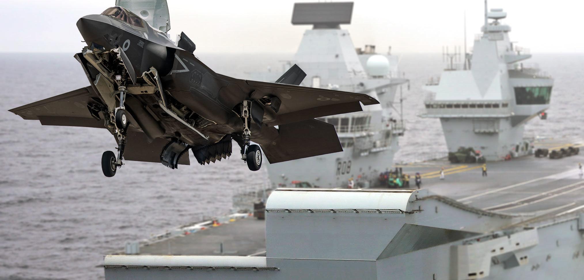 Royal Navy aircraft carrier ski jumps – a history