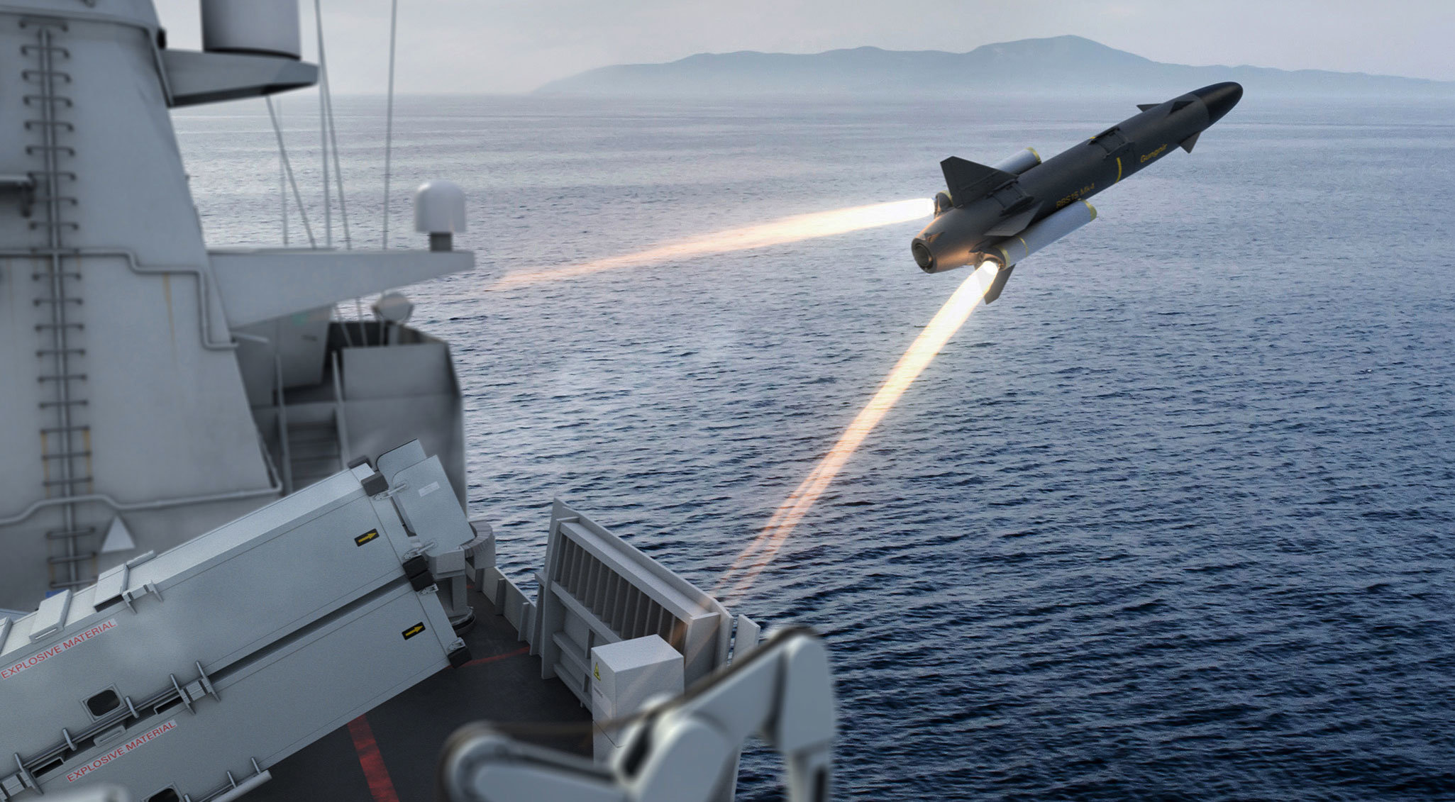 More details emerge about plan to replace Royal Navy Harpoon anti-ship missile