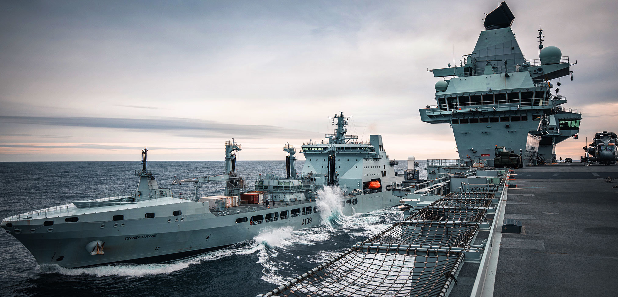 Photo essay: HMS Queen Elizabeth Westlant 19 deployment – Part 1