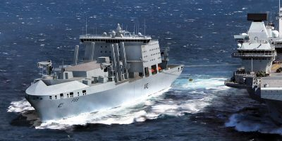Spanish-led partnership reveal details of their Fleet Solid Support Ship proposal