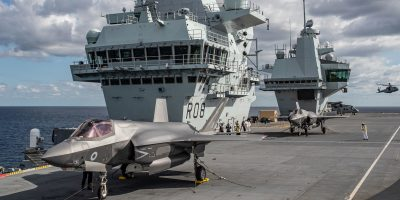 Photo essay: First British jets land onboard HMS Queen Elizabeth – Westlant 19 deployment – Part 3