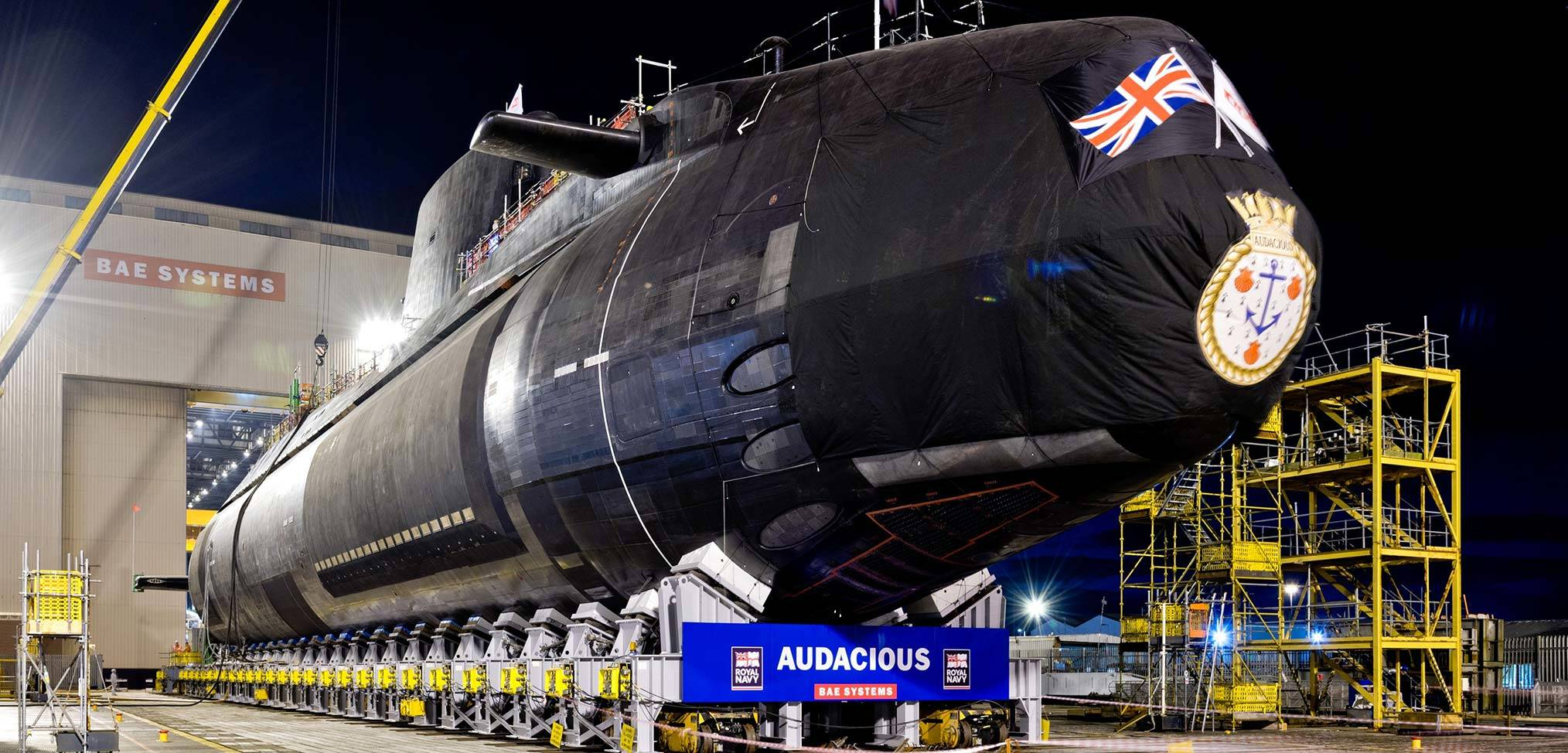 Delivery of HMS Audacious to the Royal Navy delayed by another 17 months
