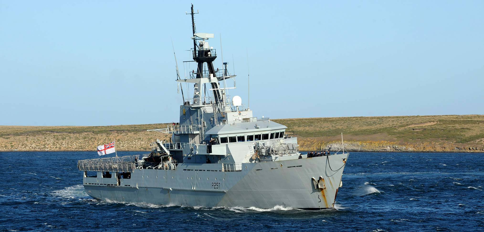 A history – the Royal Navy's Falkland Islands patrol vessels