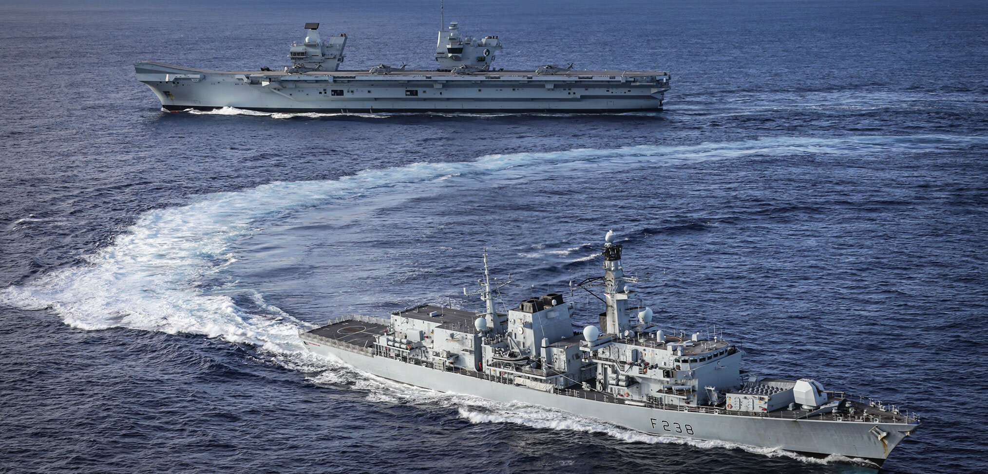Photo essay: HMS Queen Elizabeth Westlant 19 deployment – Part 2