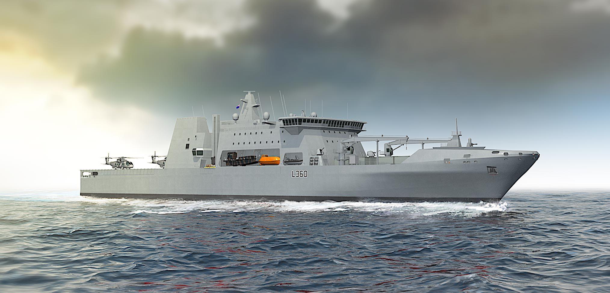 In focus: the BMT ELLIDA multi-role and logistics vessel concept