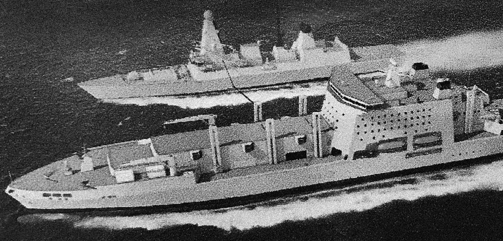 Why has the Royal Navy's Fleet Solid Support Ship competition been suspended?