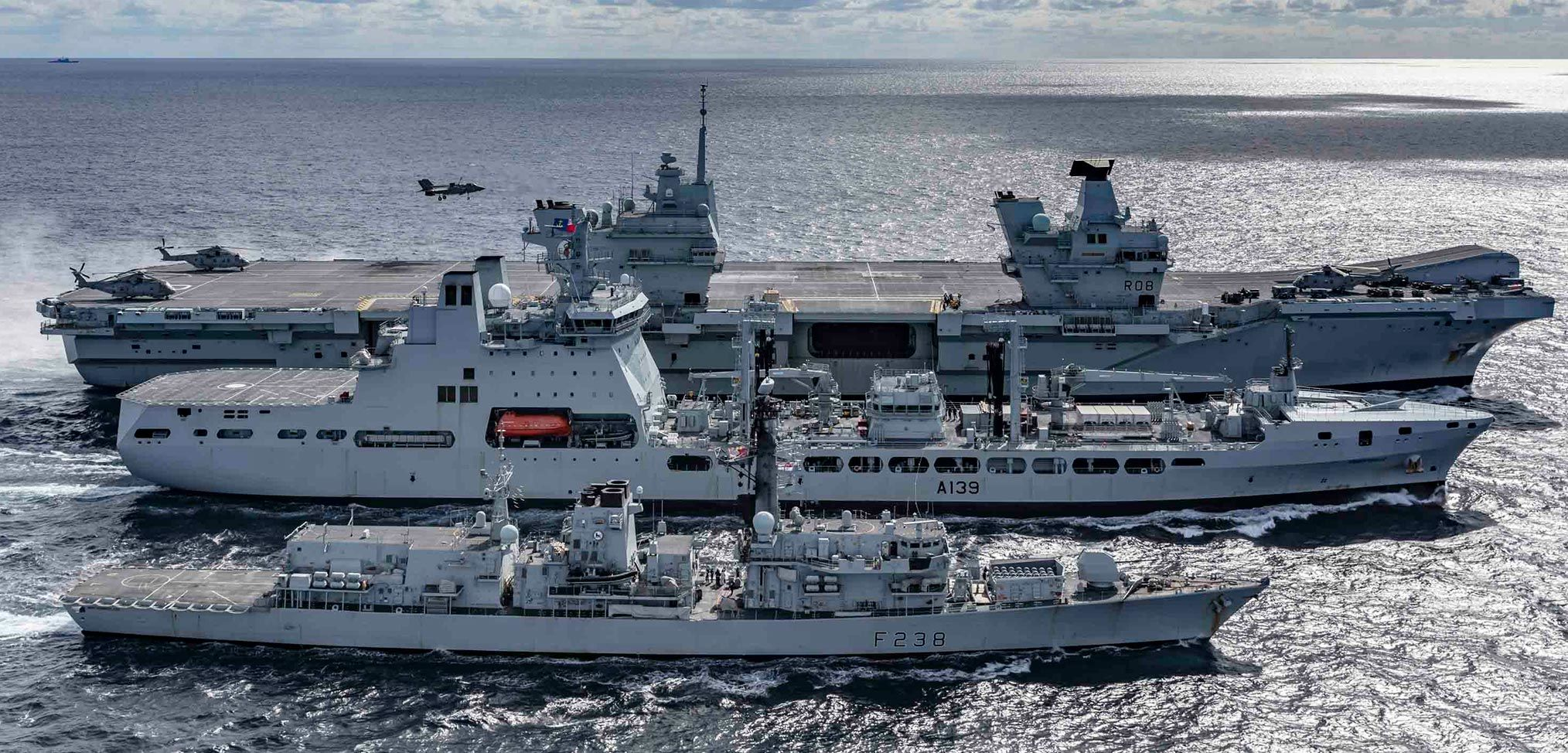 Photo essay: HMS Queen Elizabeth – Westlant 19 deployment – Part 4
