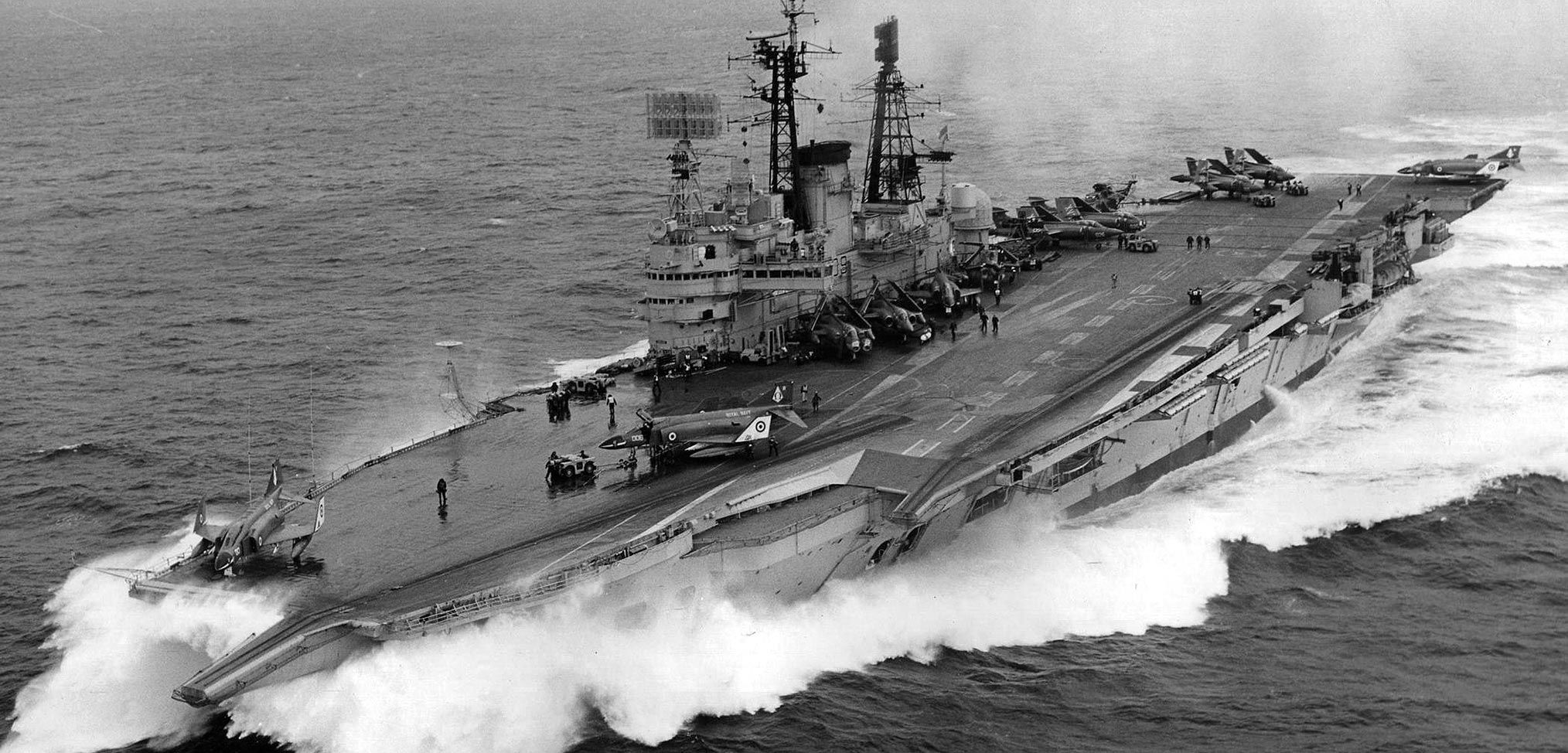 Air power from the sea – the case for aircraft carriers