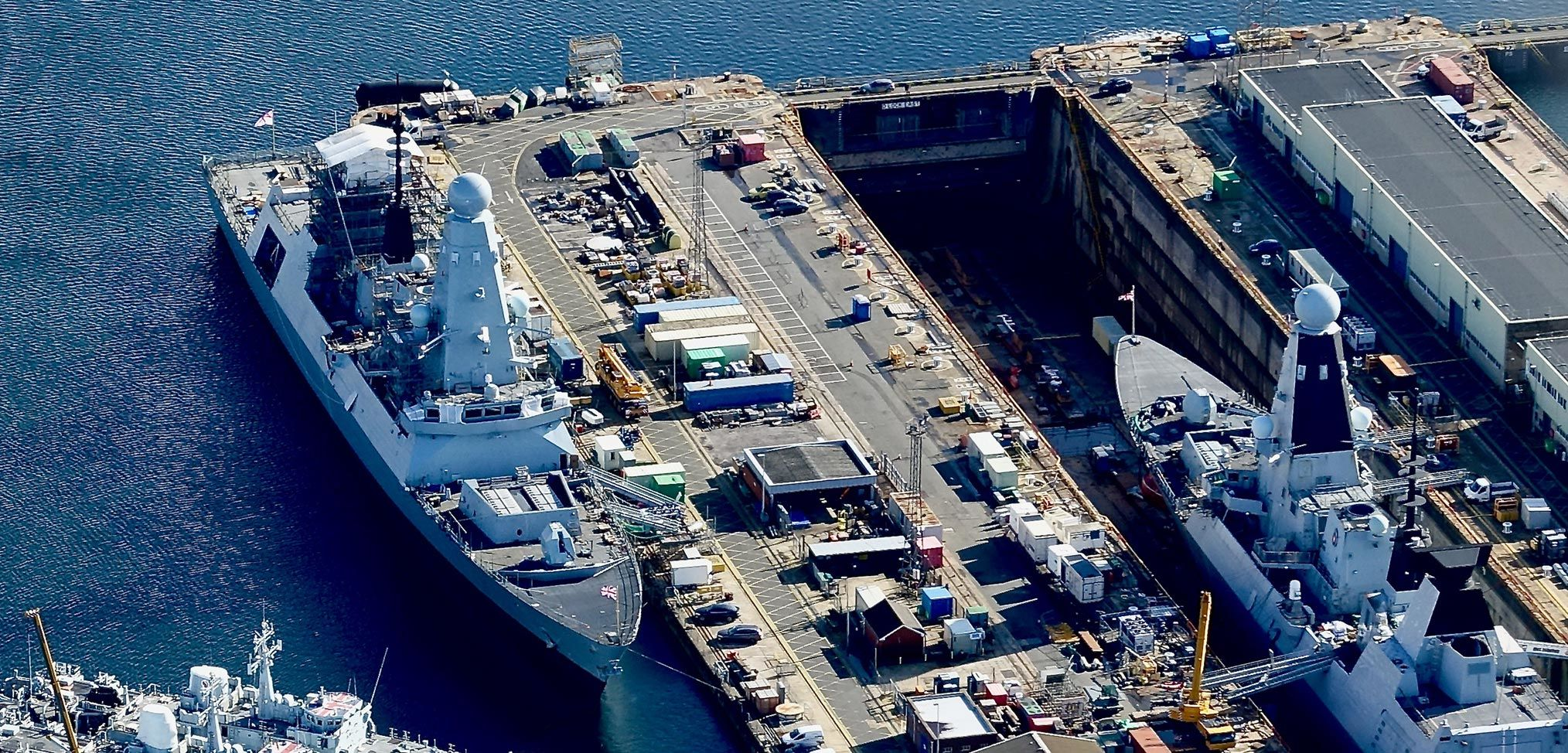 Maintenance problems for the Royal Navy mount up