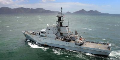 In focus: the Royal Navy presence in the Caribbean