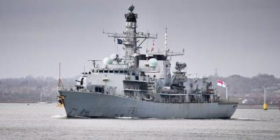 Mostly business as usual for the Royal Navy in the face of COVID-19 crisis