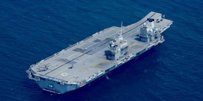 HMS Queen Elizabeth prepares to sail despite COVID-19 crisis