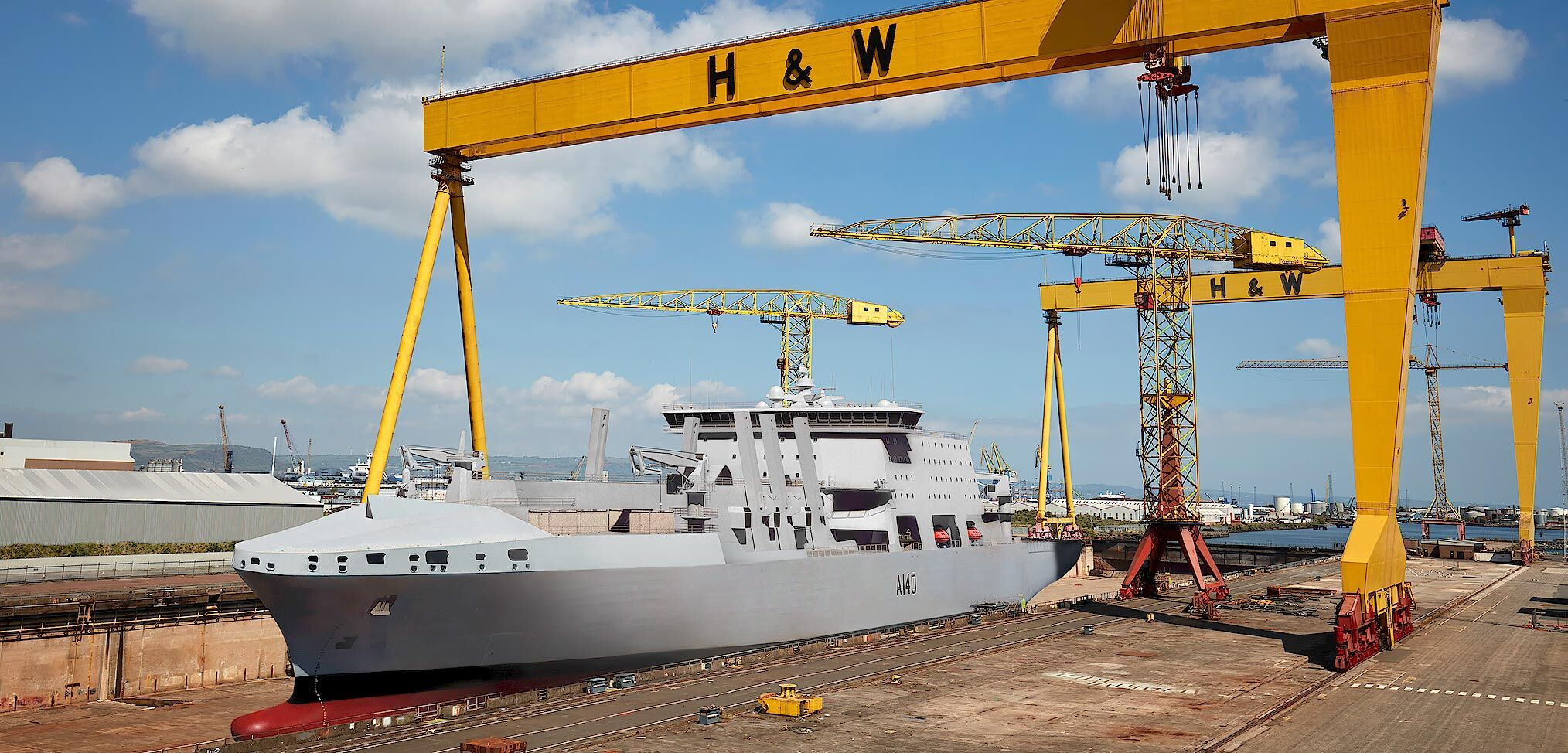 British-Spanish team bid to build the Fleet Solid Support ship