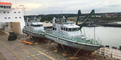 Patrol boats for the Royal Navy Gibraltar Squadron
