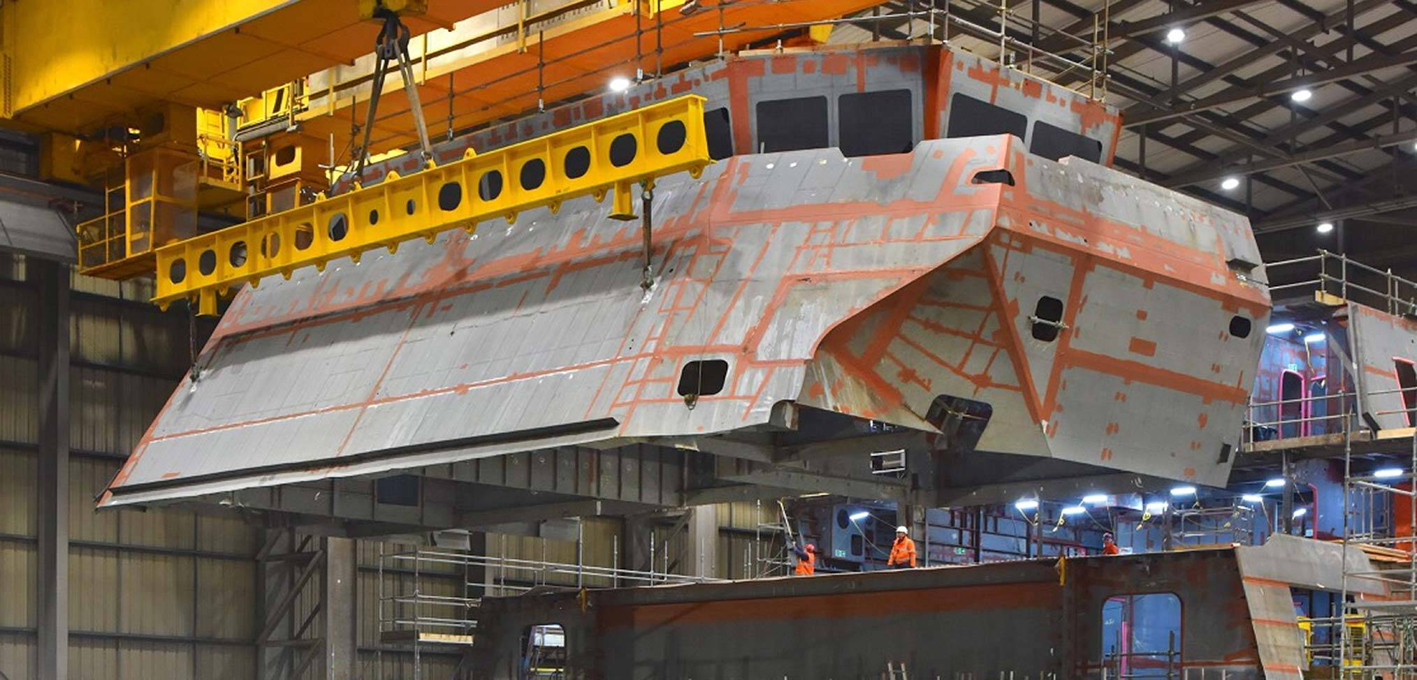 Warship building in the pandemic – progress on the Type 26 frigate