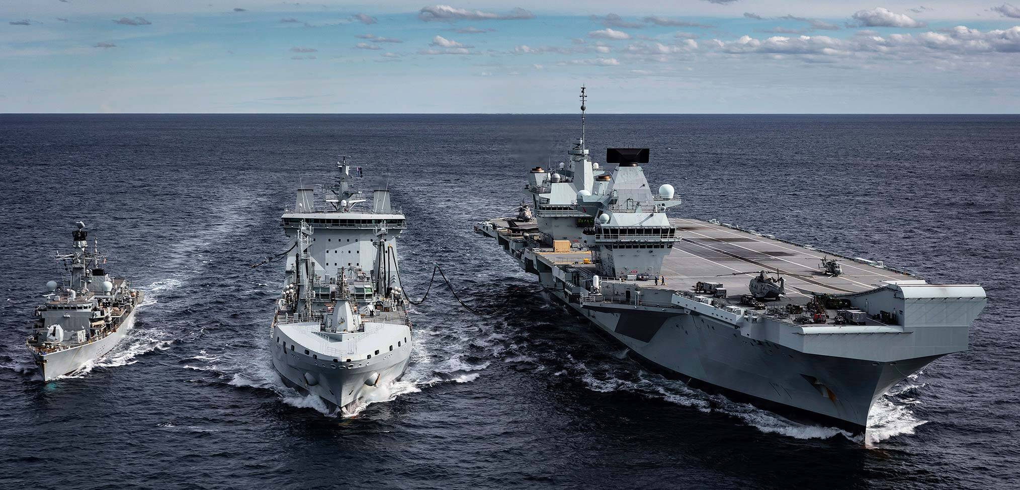 Counting down to the UK Carrier Strike Group 2021 deployment