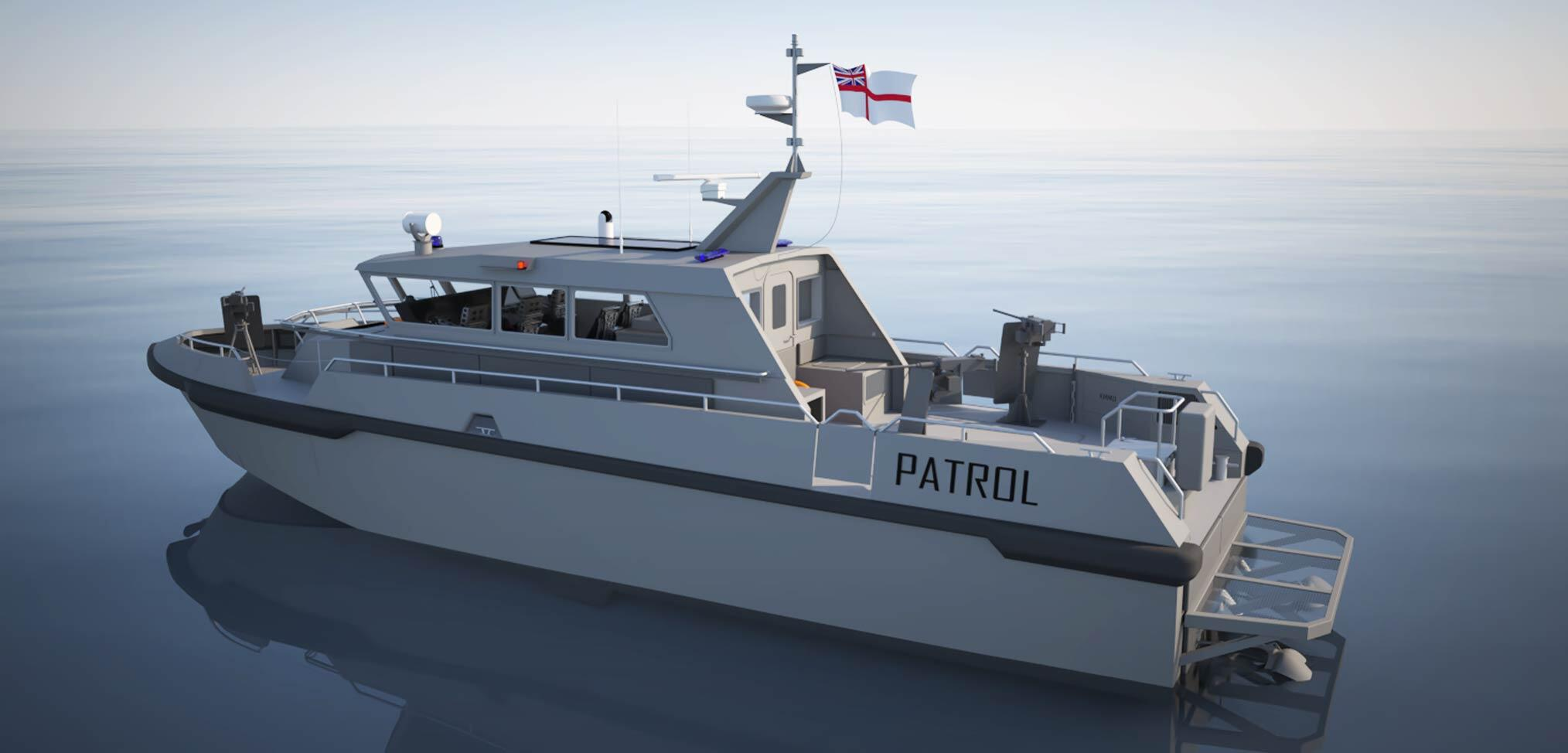 Order placed for new Royal Navy Gibraltar Squadron patrol boats