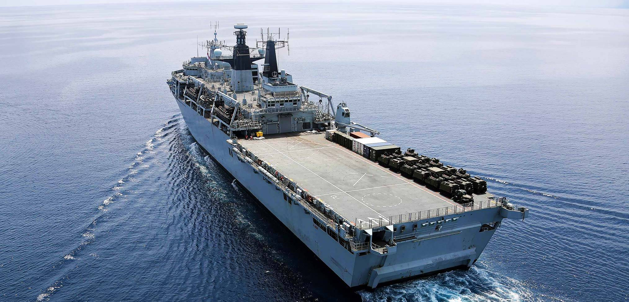 Royal Navy amphibious warfare capability in flux