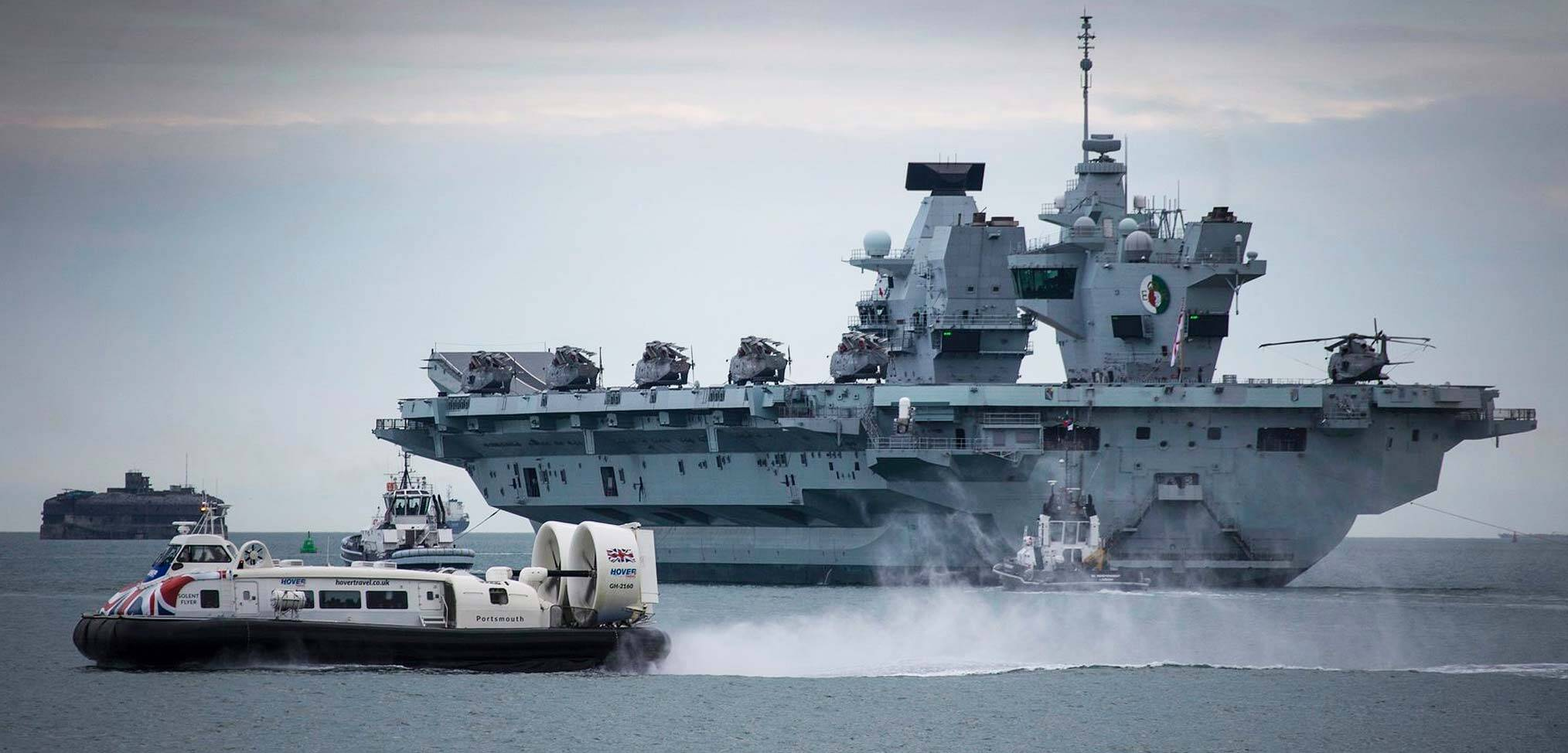 A complex Autumn programme for the Royal Navy begins
