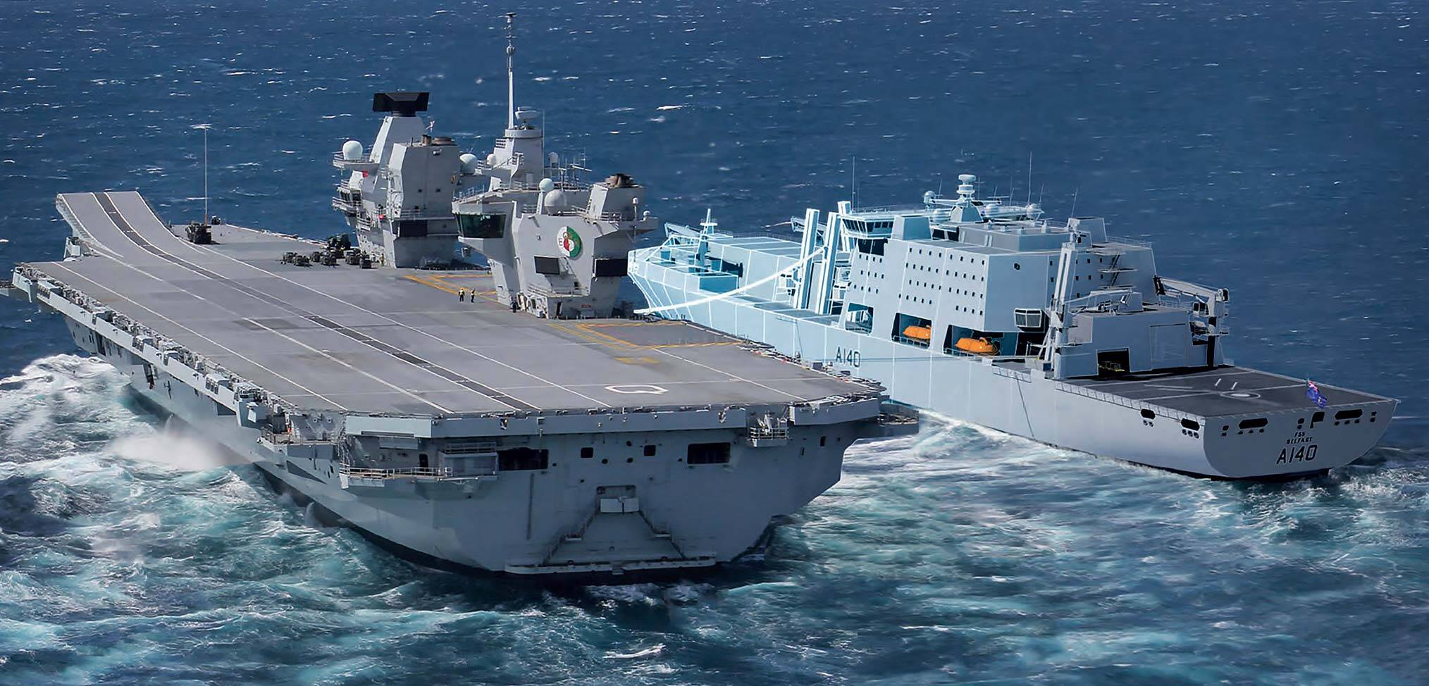 Fleet solid support ships for the Royal Navy to be built in Britain
