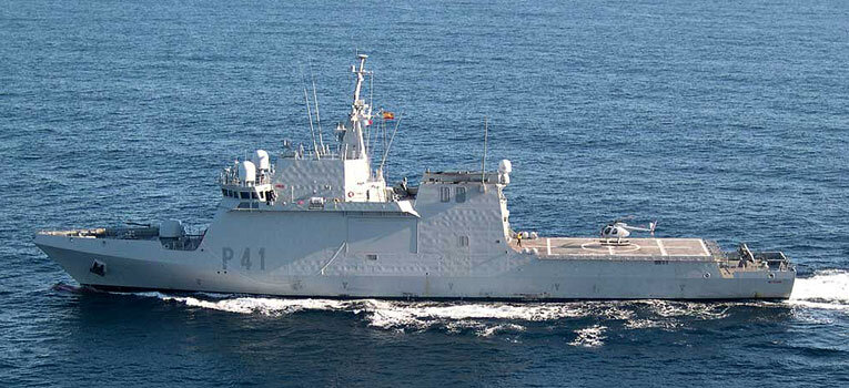 Offshore Patrol Vessels of the Spanish Navy
