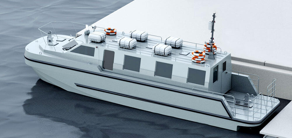 HMS Prince of Wales Passenger Transfer boat
