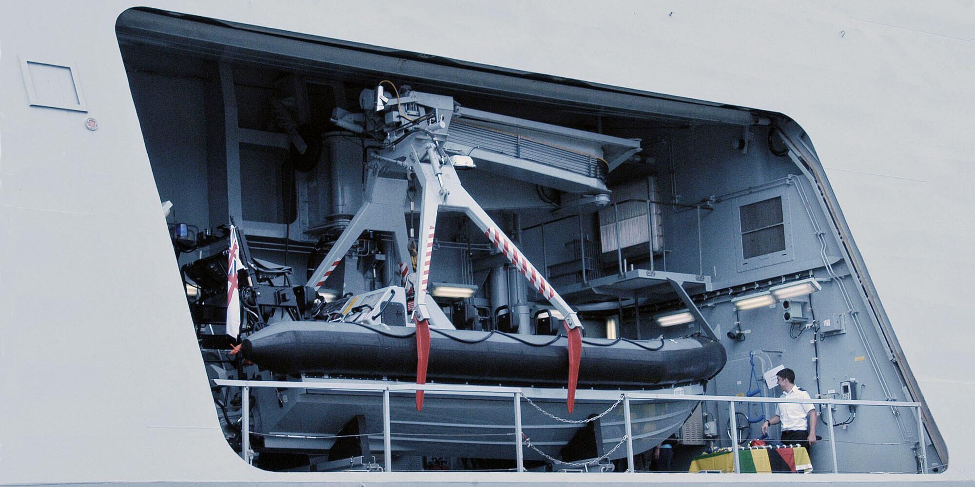 HMS Dauntless Sea Boat