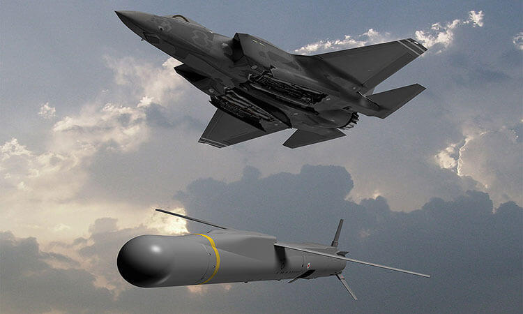 F35B Spear 3 missile