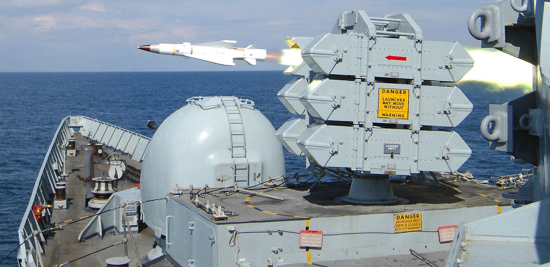 Sea Wolf missile