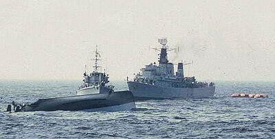 HMS-FITTLETON 1976