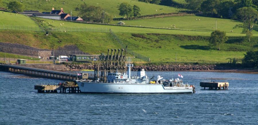 HMS Ledbury Campbeltown