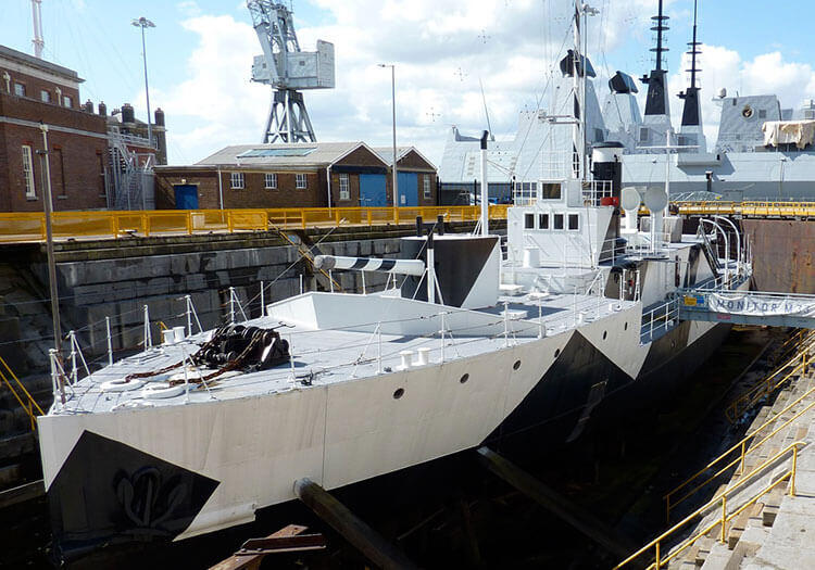 World War 1 Monitor HMS M33