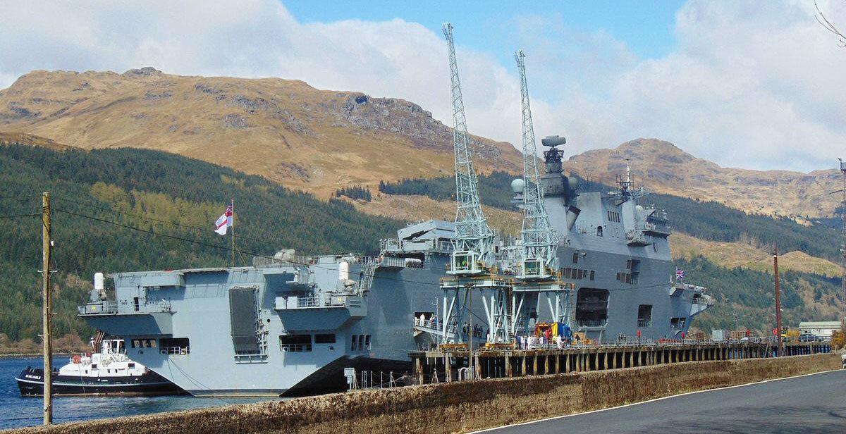 HMS Ocean Glen Mallen 2015