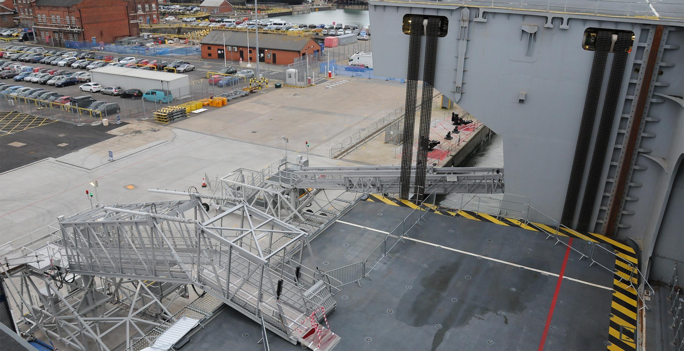 Aircraft Lift HMS Queen Elizabeth