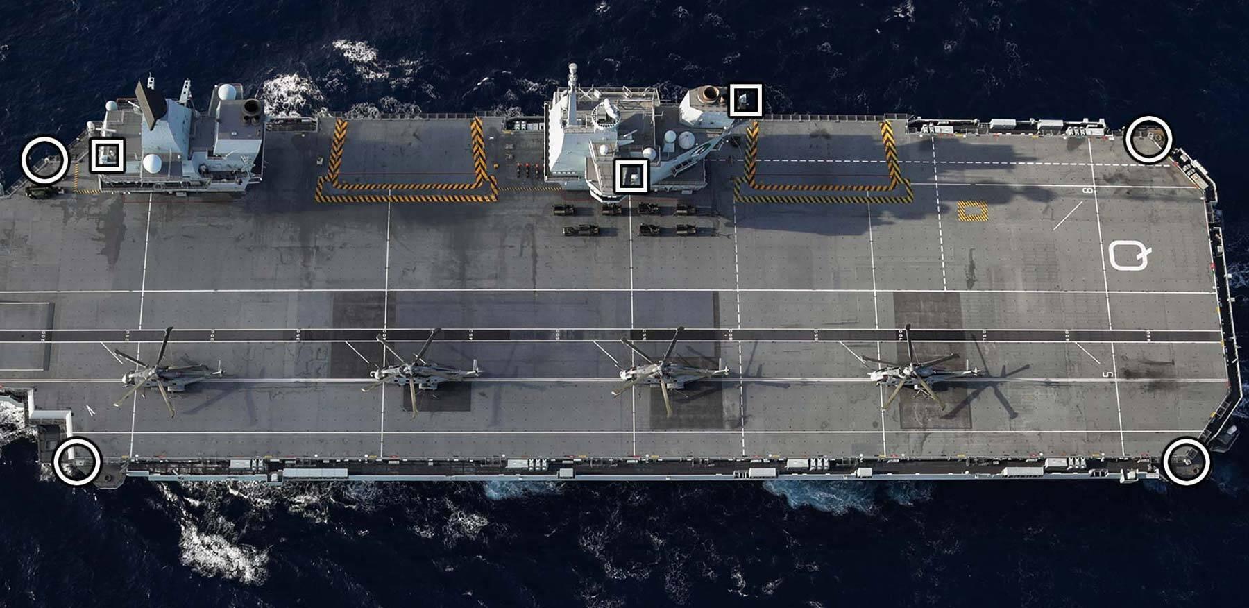 EOD Mounts HMS Queen Elizabeth
