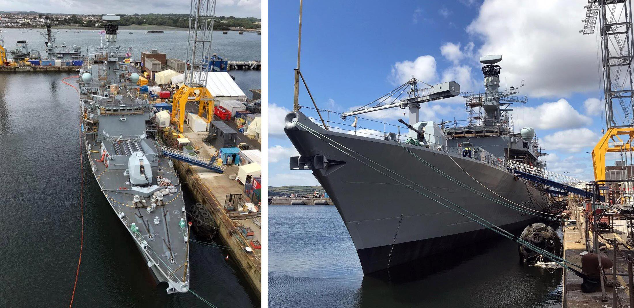 HMS Richmond Devonport