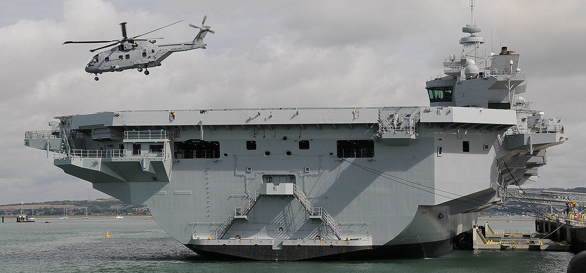 Merlin Mk4 HMS Queen Elizabeth