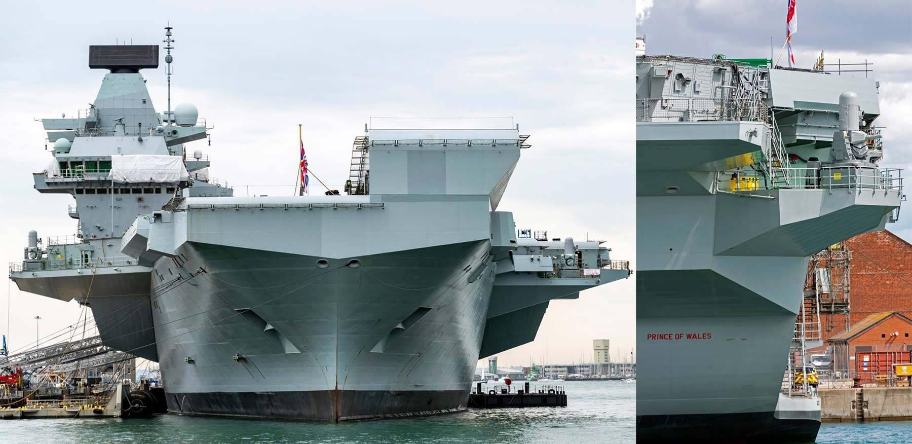 Phalanx HMS Prince of Wales