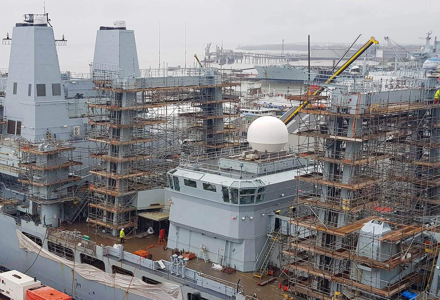 RFA Fort Victoria Refit Cammell Laird