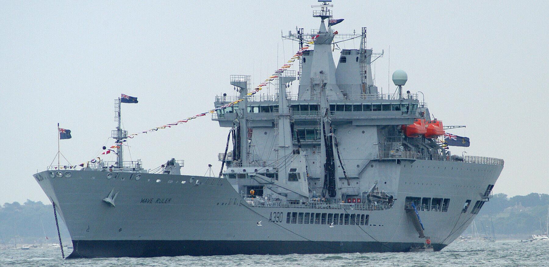 RFA Wave Ruler Fleet Review
