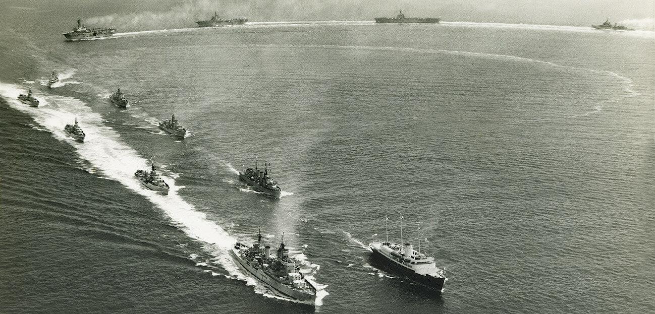 Royal Navy Home Fleet 1957