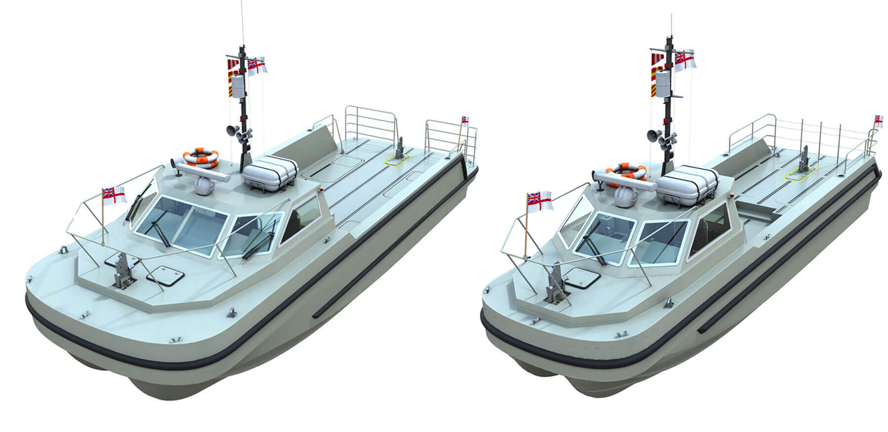 Sea Class Workboat Variants