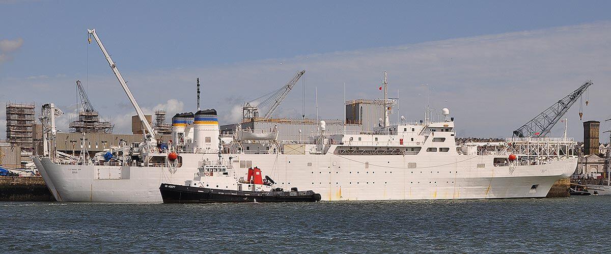 USNS Zeus Devonport