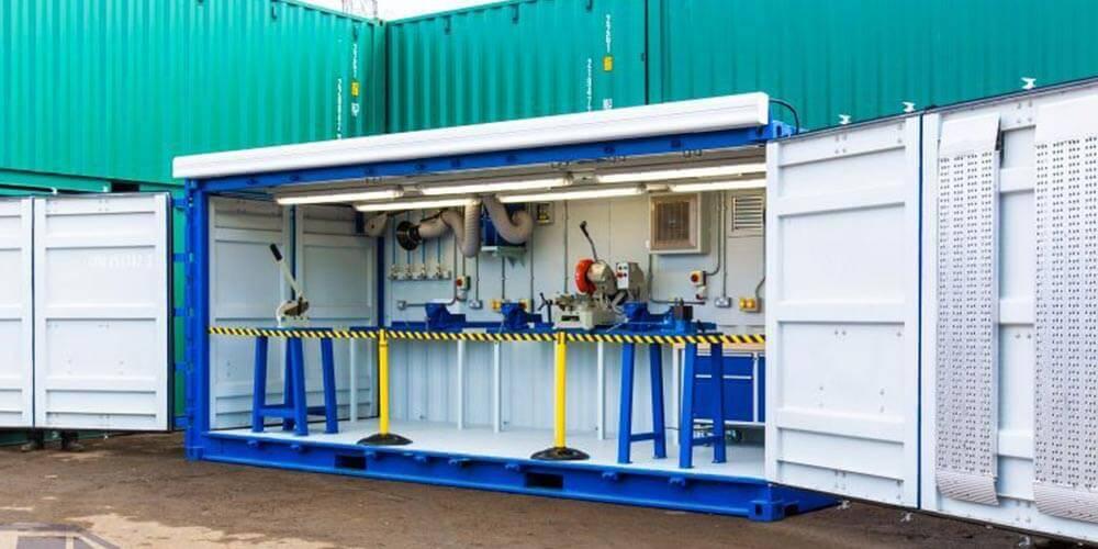 Containerised workshop