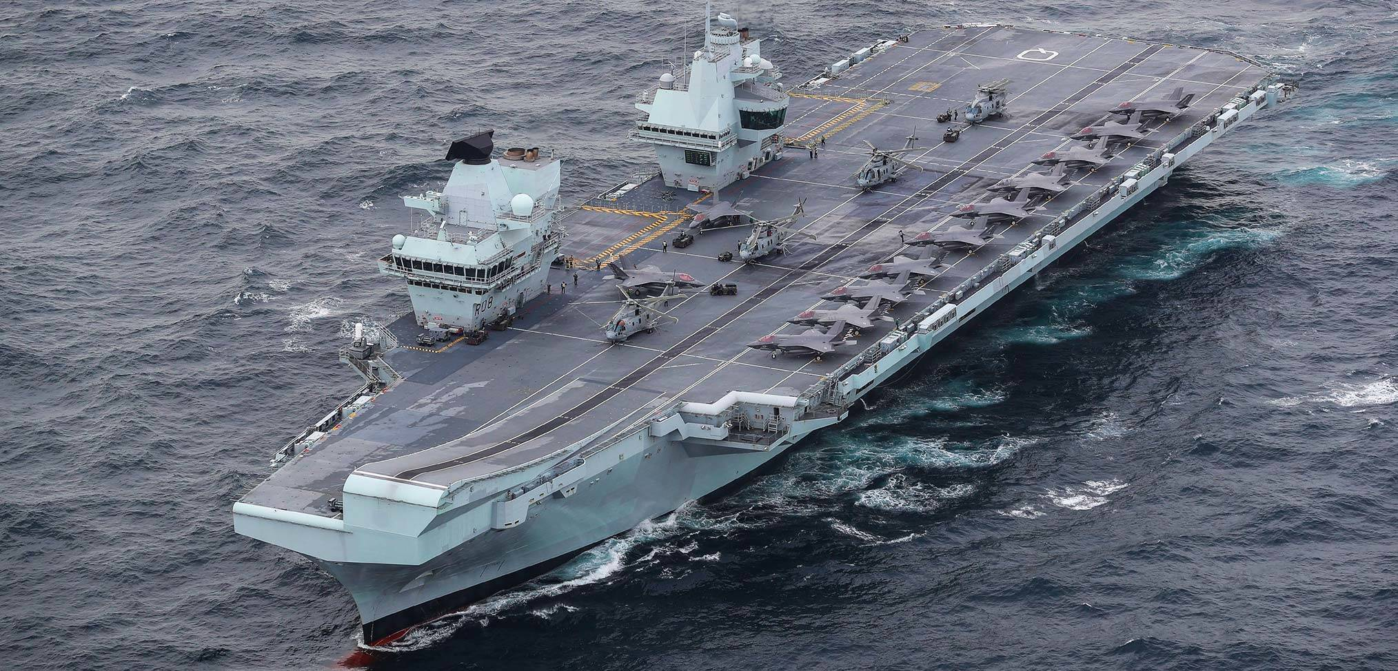UK Carrier Strike Group declares Initial Operating Capability
